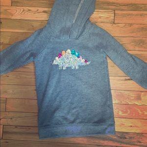 Dino sequin hoodie